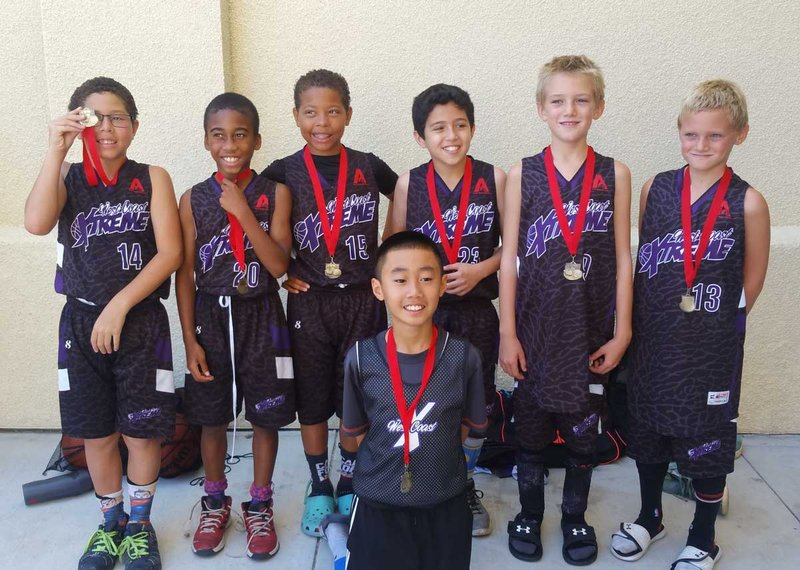 West Coast Extreme, Winners July 2/3 Mission College 3rd, 4th grade